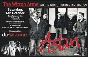 Aslan_Witton Arms_AMA Music Agency