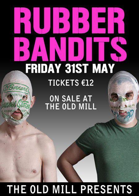 rubber bandits promo