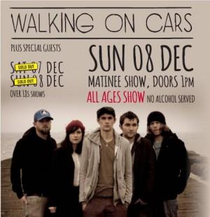 WALKING ON CARS AD