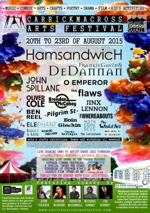 Carrick Arts Fest Poster A3