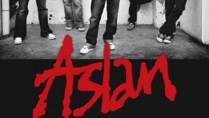 Dublin rockers Aslan with www.amamusicagency.ie